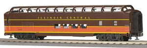 "MTH 20-6761 - 70' Streamlined Full Length Vista Dome Passenger Car ""Illinois Central"" (Smooth Sided)"