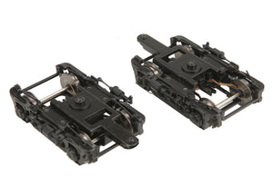 MTH 20-89007 - Lightweight Passenger Car (2-Rail) 2-Pack