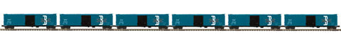 "MTH 20-90702 - 50' Ps-1 Box Car ""Boston & Maine"" w/ Youngstown Door (6-Car)"
