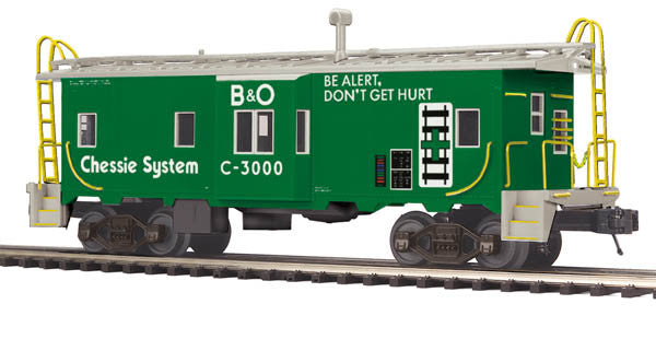 "MTH 20-91404 - Bay Window Caboose ""Chessie"""