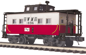 "MTH 20-91600 - Steel Caboose - Center Cupola ""Western Maryland"""