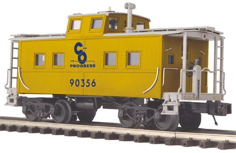 "MTH 20-91601 - Steel Caboose - Center Cupola ""Chesapeake & Ohio"""