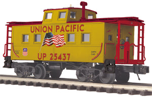 "MTH 20-91628 - Steel Caboose - Center Cupola ""Union Pacific"" (Flag)"