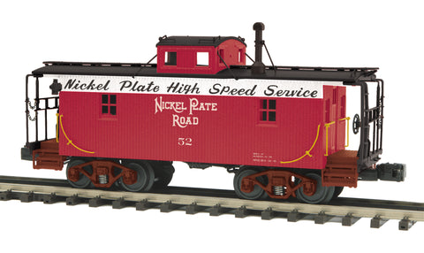 "MTH 20-91647 - N-6b Caboose ""Nickel Plate Road"" w/ Operating Signal Man"