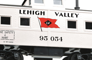 "MTH 20-91650 - Steel Caboose - Center Cupola ""Lehigh Valley"""