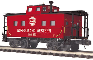 "MTH 20-91651 - Steel Caboose - Center Cupola ""Norfolk & Western"""