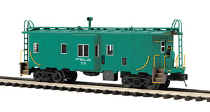 MTH 20-91695 Pittsburgh & Lake Erie Bay Window Caboose