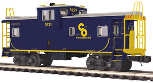 "MTH 20-91698 - Extended Vision Caboose ""Chesapeake & Ohio"""