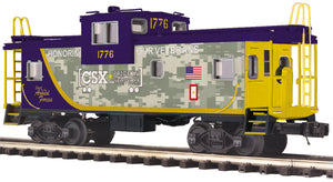 MTH 20-91701 CSX Extended Vision Caboose