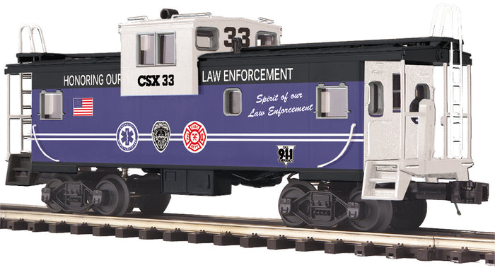 "MTH 20-91702 - Extended Vision Caboose ""CSX"""