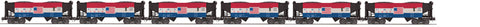"MTH 20-92090 - 2-Bay Offset Hopper Car Set ""Cambria & Indiana"" (6-Car)"