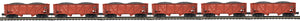 "MTH 20-92097 - 34' Composite Hopper Car Set ""Lehigh Valley"" (6-Car)"