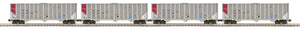 "MTH 20-92156 - Coke Hopper Car Set ""FURX"" (4-Car)"
