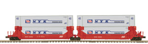 "MTH 20-92244 - Twin Stack Container Set ""SOO Line"" (2-Car)"