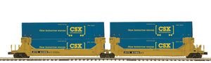 MTH 20-92247 TTX 2-Car Twin Stack Container Set