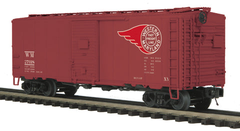 "MTH 20-90705 - 50' Ps-1 Box Car ""Western Maryland"" w/ Youngstown Door (6-Car)"