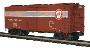 "MTH 20-92085 - 40' AAR Box Car Set ""Pennsylvania"" (6-Car)"