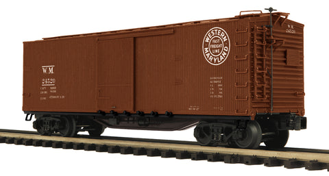 "MTH 20-93727 - 40' USRA Double Sheathed Box Car ""Western Maryland"""