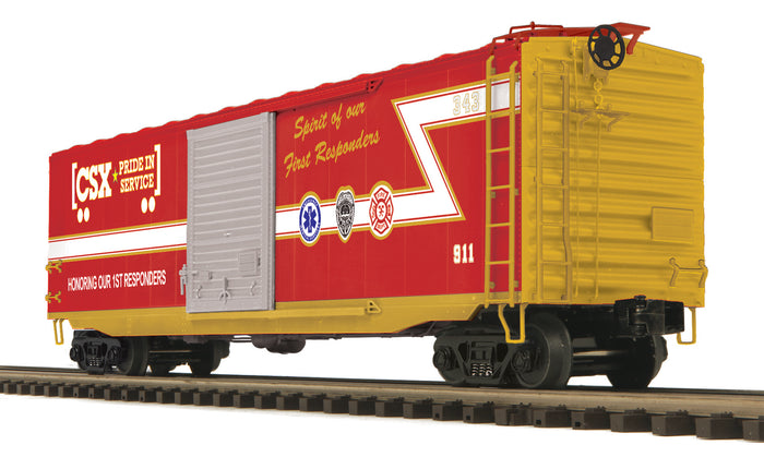 MTH 20-93927 CSX 50' Ps-1 Box Car w/Youngstown Standard Door