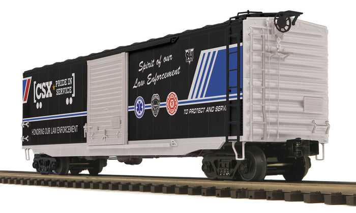 MTH 20-93929 CSX 50' Ps-1 Box Car w/Youngstown Standard Door