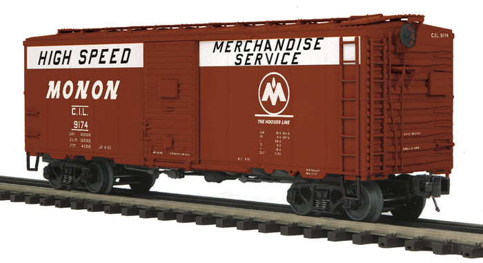 "MTH 20-93943 - 40' AAR Box Car ""Monon"" #9174 - Custom Run for MrMuffin'sTrains"