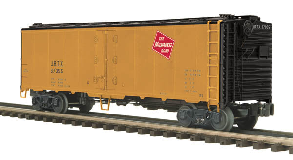 "MTH 20-94255 - 40' Steel Sided Reefer Car ""Milwaukee Road"""