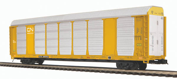 "MTH 20-95153 - Corrugated Auto Carrier ""Canadian National"""