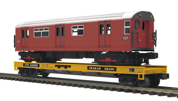 "MTH 20-95181 - Flat Car w/ R-33S Subway Car ""TTX"""