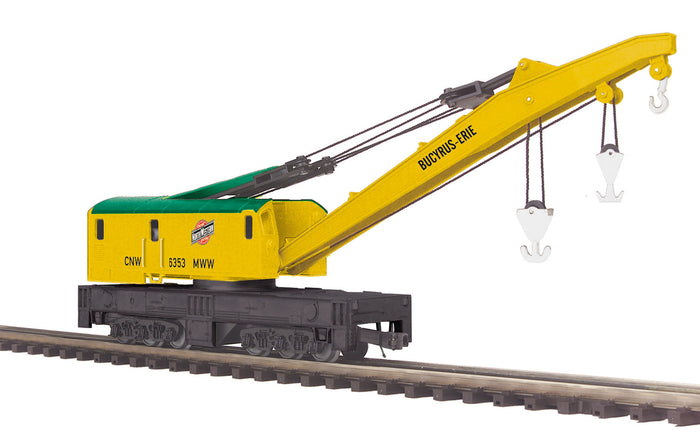 "MTH 20-95190 - Crane Car ""Chicago & North Western"""