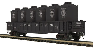 "MTH 20-95206 - Gondola Car ""Alaska"" w/ LCL Cement Containers"