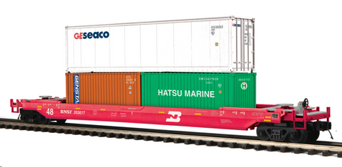 "MTH 20-95229 - Husky Stack Car ""BNSF"""