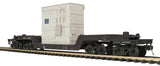"MTH 20-95253 - 75' Depressed Flat Car ""Chesapeake & Ohio"" w/ Transformer"