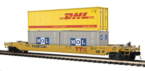 "MTH 20-95281 - Husky Stack Car ""TTX"""
