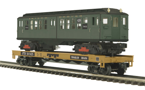 "MTH 20-95329 - Flat Car ""TTX"" w/ LoV Subway Car"
