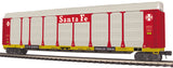 MTH 20-95338 Santa Fe Corrugated Auto Carrier