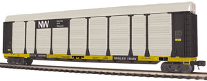 MTH 20-95340 Norfolk & Western Corrugated Auto Carrier