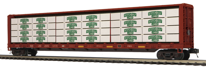 "MTH 20-95349 - Center Beam Flat Car ""Norfolk Southern"" w/ Lumber Load"