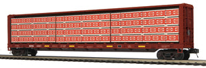 MTH 20-95350 BNSF Center Beam Flat Car w/Lumber Load