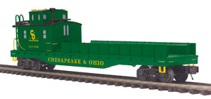 MTH 20-95458 Chesapeake & Ohio O Scale Crane Tender
