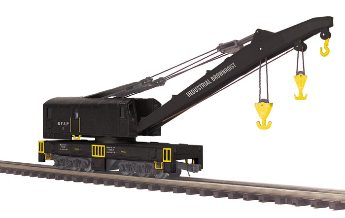 MTH 20-95459 Richmond Fredericksburg & Potomac O Scale Crane Car