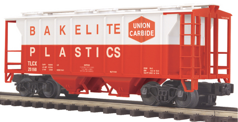 "MTH 20-97347 - Ps-2 Hopper Car ""Bakelite Plastics"""