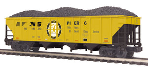 "MTH 20-97841 - 4-Bay Hopper Car w/Coal Load ""Norfolk Southern"""
