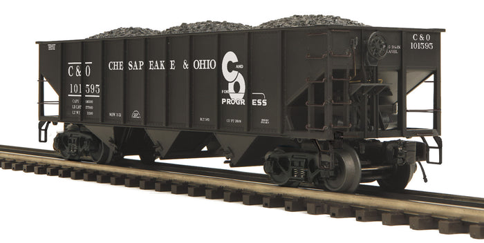 "MTH 20-97842 - 70-ton 3-Bay Hopper Car ""Chesapeake & Ohio"""