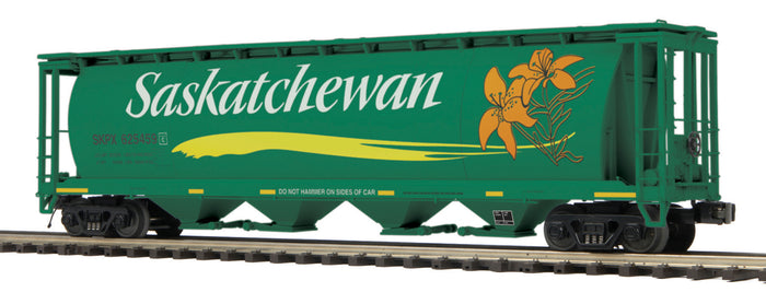 "MTH 20-92145 - 100 Ton Hopper Car Set ""Saskatchewan"" (6-Car)"