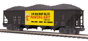 "MTH 20-97886 - 4-Bay Hopper Car ""Indianapolis Power & Light"""