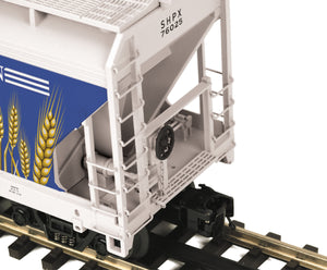 MTH 20-97899 American Grain 3-Bay Centerflow Hopper
