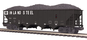 MTH 20-97901 Inland Steel 4-Bay Hopper Car