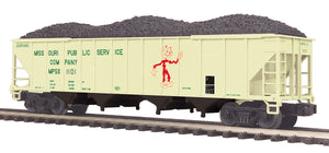 MTH 20-97902 Missouri Public Service 4-Bay Hopper Car