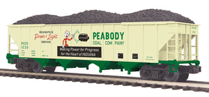MTH 20-97903 Peabody Coal 4-Bay Hopper Car
