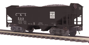 "MTH 20-97907 - 2-Bay Offset Hopper Car ""Cambria & Indiana"""